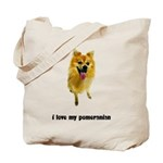 Pomeranian Lover Tote Bag