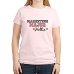 Marketing Major Hottie Women's Light T-Shirt