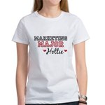 Marketing Major Hottie Women's T-Shirt