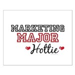 Marketing Major Hottie Small Poster