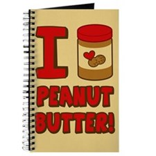 I Love Peanut Butter Journal