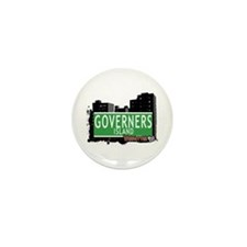 GOVERNERS ISLAND, MANHATTAN, NYC Mini Button (10 p