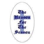 Reason for the Season Oval Sticker