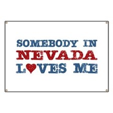 Somebody in Nevada Loves Me Banner