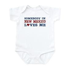 Somebody in New Mexico Loves Me Infant Bodysuit