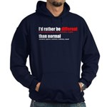 Rather be Different Hoodie (dark)