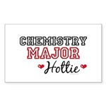 Chemistry Major Hottie Rectangle Sticker