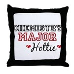 Chemistry Major Hottie Throw Pillow