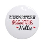 Chemistry Major Hottie Ornament (Round)