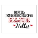 Civil Engineering Major Hottie Small Poster