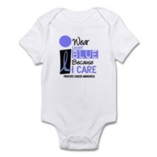 I Wear Light Blue Because I Care 9 Infant Bodysuit