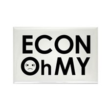 """ECONOhMY"" Rectangle Magnet"