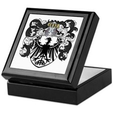 Van Der Steen Coat of Arms Keepsake Box