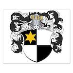 Van De Wall Coat of Arms Small Poster