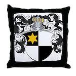 Van De Wall Coat of Arms Throw Pillow