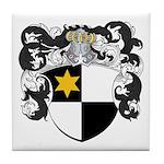 Van De Wall Coat of Arms Tile Coaster