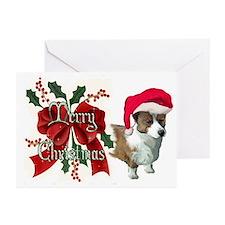 cardigan corgi santa Greeting Cards (Pk of 10)
