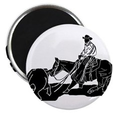 "Cutting Horse Dance 2.25"" Magnet (10 pack)"