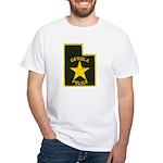 Genola Police White T-Shirt