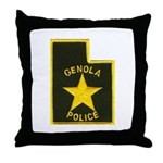 Genola Police Throw Pillow