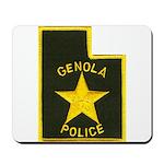 Genola Police Mousepad