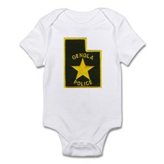Genola Police Infant Bodysuit