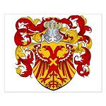 Van Driel Coat of Arms Small Poster