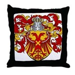 Van Driel Coat of Arms Throw Pillow