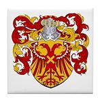 Van Driel Coat of Arms Tile Coaster