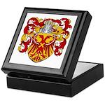 Van Driel Coat of Arms Keepsake Box