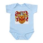 Van Driel Coat of Arms Infant Creeper