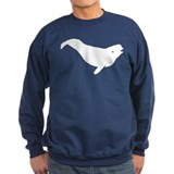 Beluga Whale Sweatshirt