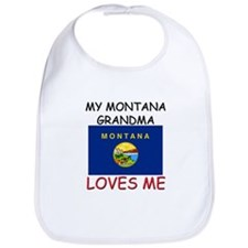 My Montana Grandma Loves Me Bib