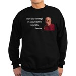 Dalai Lama 3 Sweatshirt (dark)