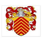 Van Egmond Coat of Arms Small Poster