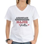 Aerospace Engineering Major Hottie Women's V-Neck