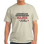 Aerospace Engineering Major Hottie Light T-Shirt