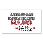 Aerospace Engineering Major Hottie Sticker (Rectan