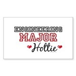 Engineering Major Hottie Rectangle Sticker