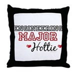 Engineering Major Hottie Throw Pillow