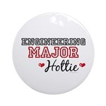 Engineering Major Hottie Ornament (Round)