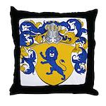 Van Geel Coat of Arms Throw Pillow