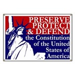 Statue of Liberty Oath of Office Banner