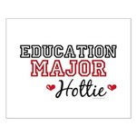 Education Major Hottie Small Poster