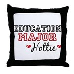 Education Major Hottie Throw Pillow