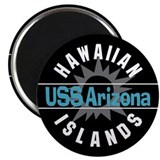 USS Arizona Hawaii Magnet