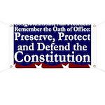 New President Oath of Office Banner