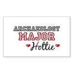 Archaeology Major Hottie Rectangle Sticker