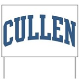 Cullen Collegiate Style Name Yard Sign