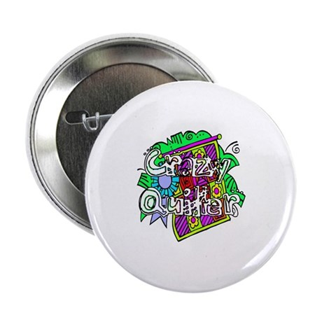 "Crazy Quilter 2.25"" Button (10 pack)"